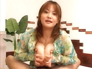 Amazing Japanese chick Chichi Asada in Best Big Tits, Handjobs JAV scene