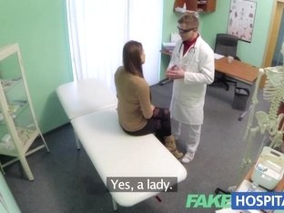 Fake Hospital Doctor prescribes a good fucking