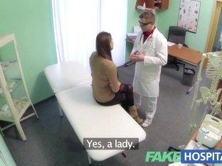 Fake Hospital Doctor prescribes a good fucking