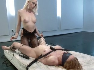 Darling Electrofucked and Ass Licking!