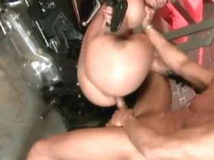 Lusty blonde momma Phoenix Marie gets anal sex