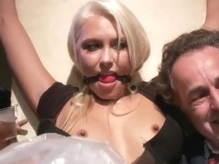 Slut loves to be disgraced