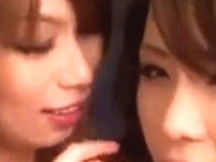 Haruka Sanada Hikari Hino Nao & Nao 1 Engulfing and Cum Exchange