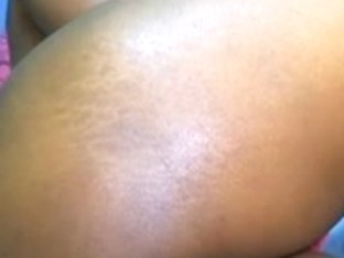 Ebony busty babe touching her beautiful body in this erotic video