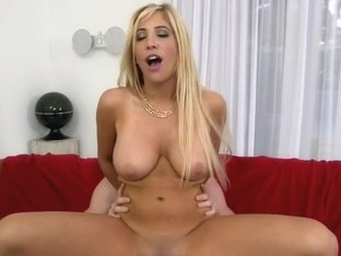 Sexy Blonde Porn Star Gets A Pussy Full Of...