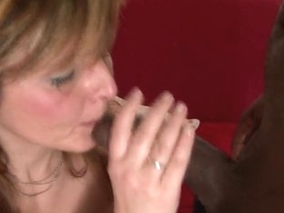 RawVidz Video: Blonde milf goes black