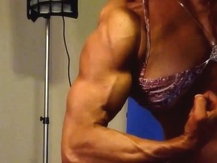 Hot Muscle Dominant-Bitch in Studio three