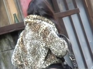 Incredibly sweet Asians in perverted top sharking video