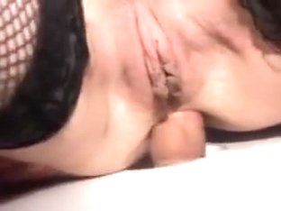 Long Haired Divorcee Anal Fuck And Facial At Glory Hole