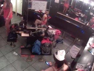 Dressing room webcam
