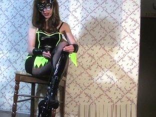 Crazy Homemade clip with Brunette, Solo scenes