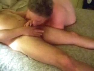 slut sub sucking strangers cock till he cums