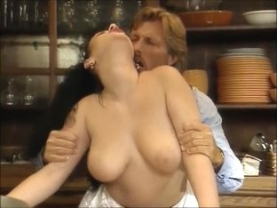 Big ass milf fuck in the kitchen