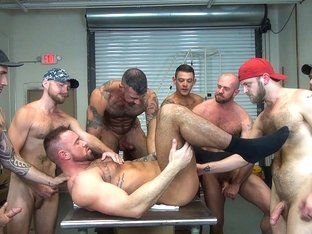 Michael Roman's Gang Bang - Dark Alley