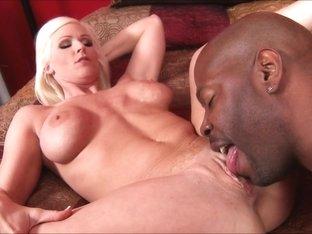 Horny pornstar in Incredible Lesbian, Interracial porn movie