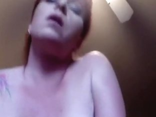 Redhead mother I'd like to fuck with giant mounds playing with my schlong