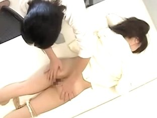 Gyno spy movie with japanese dick drilling a wet yum-yum