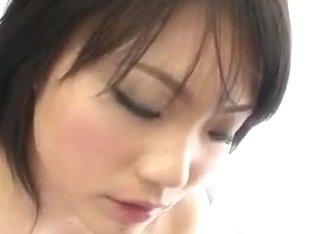 Haruna Katou busty beauty nailed in rough ways