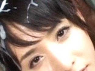 Yuka Osawa face overspread in cum