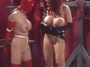 Femdom-Goddess masturbates for her slaves