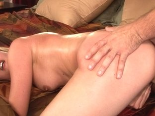 Skinny blonde licked and screwed well