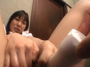 Hina Sakura Japanese beauty is analled in a sex toy game