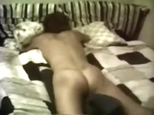 My insatiable kinky wifey rubs her love tunnel against the pillow