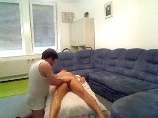 Hidden camera films hot and horny massage.