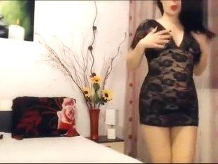 Alysyasunshine in sexy dress