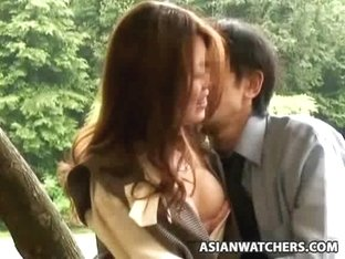 Officegirls fuck in Public two