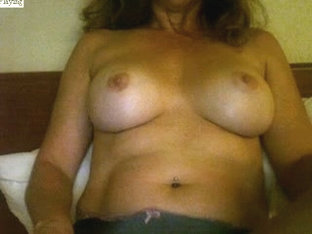 Showing my huge sexy bust on webcam