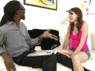 Exotic pornstar Bella Young in incredible interracial, cumshots porn scene