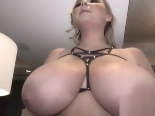 Polish Busty Beauty Topless First Time
