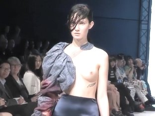 Nude Fashion Week Lisa Loveday HD