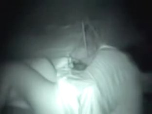 Lewd teens fucking in the quiet corner on spy sex video