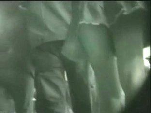 Seductive teen upskirt voyeur video