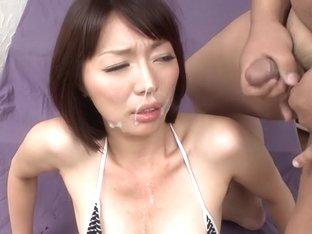 Exotic Japanese slut Izumi Manaka in Horny JAV uncensored MILFs clip