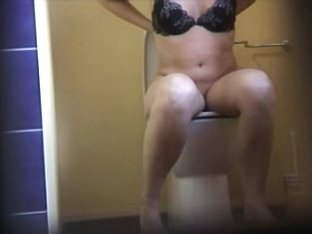 toilet view (With tits)