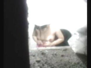 Ctg bangladeshi aunty hidden spy bath