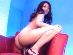 Exotic Japanese model Risa Tsukino in Crazy Striptease, Blowjob/Fera JAV clip