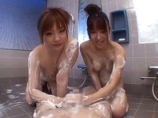 Exotic Japanese girl Anna Kanzaki, Rika Sonohara in Crazy Dildos/Toys, Facial JAV clip