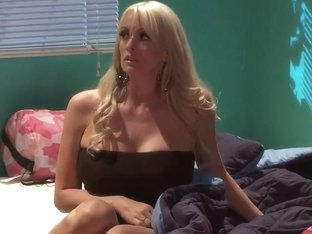 Busty Stormy Daniels Wants Some Hard Cock In Her MILF Hole