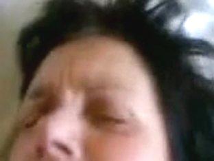 Amatuer Polish saggy granny