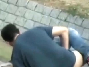 Voyeur Tapes Legal Age Teenagers Fucking In The Park