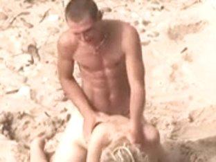 Voyeur on public beach. Hawt juvenile pair sex3