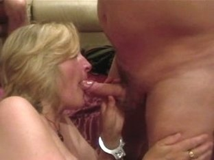 Sue loves throat sex