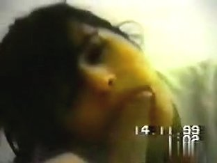 Retro 1999 blowjob and doggystyle sex