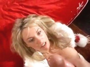 Jingle bells with a christmas oral-job-sex