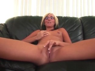 Glasses Blonde Teen Bbc Big Cock Pounding