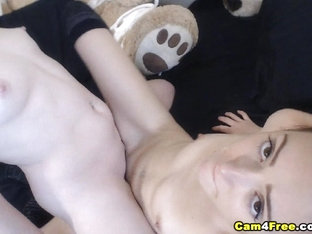 Pretty Lesbian Girls Fingering And Eating Pussy